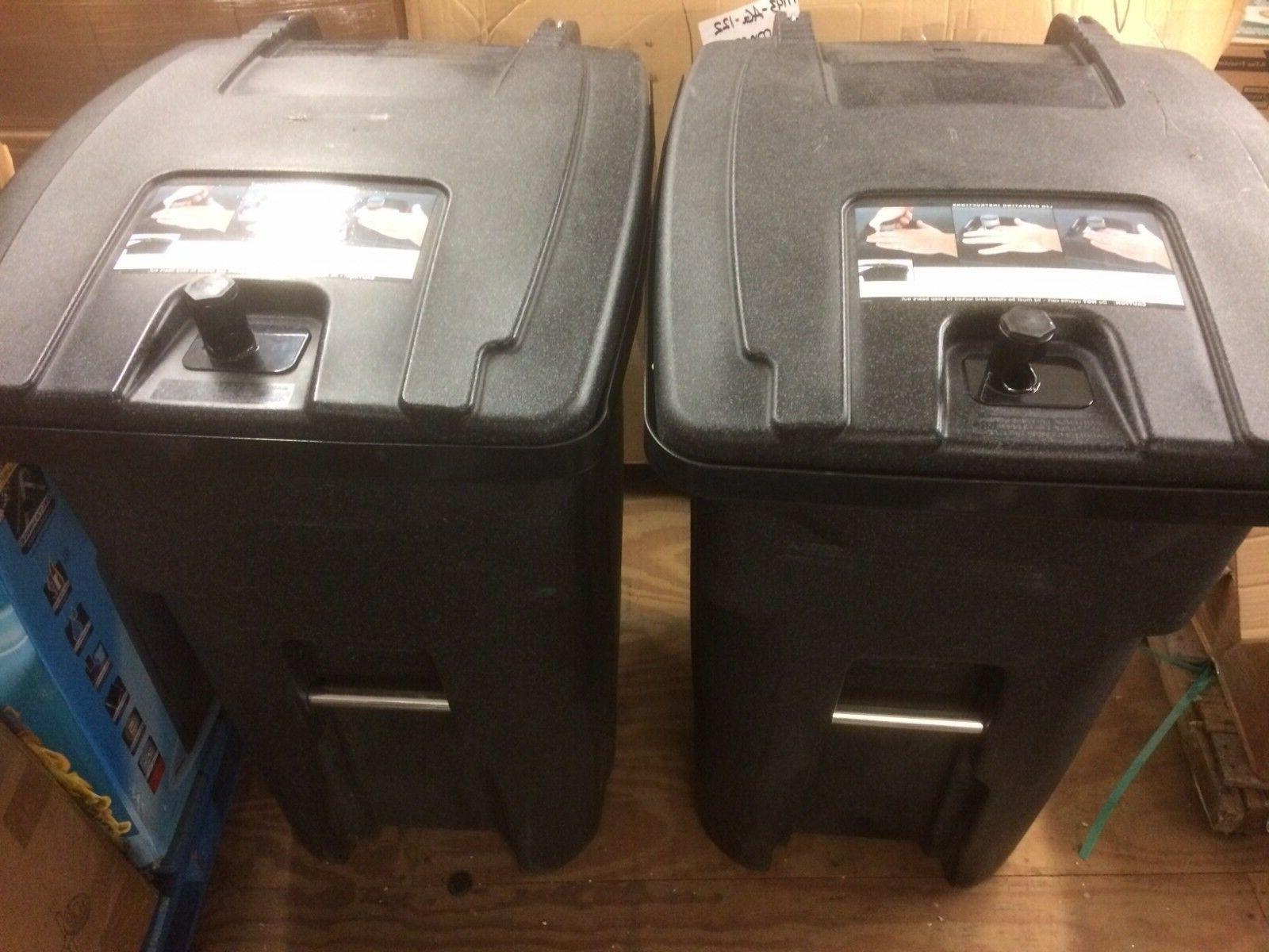 2 Toter  Bear Proof Residential Heavy Duty 64 Gallon Two Whe
