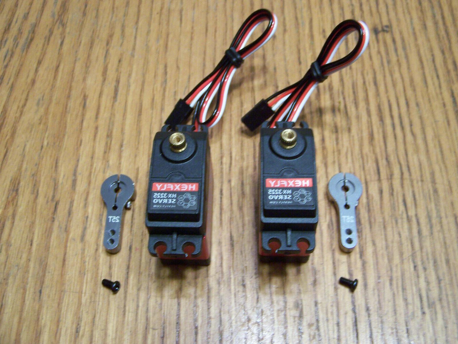 2 redcat hexfly hx 3225 metal gear