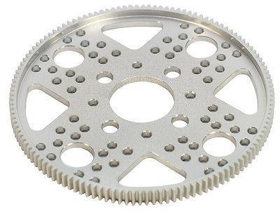 32p 128t aluminum hub gear 1 bore