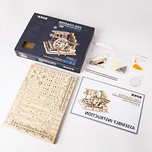 ROKR Mechanical Assembly Kits Wooden Games Christmas Gift Adults &