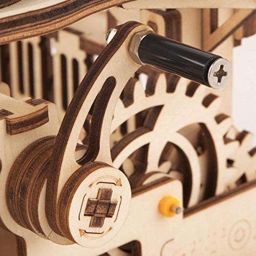 ROKR 3D Mechanical Set Assembly Wooden Craft Brain Teaser Games Christmas Adults 14+