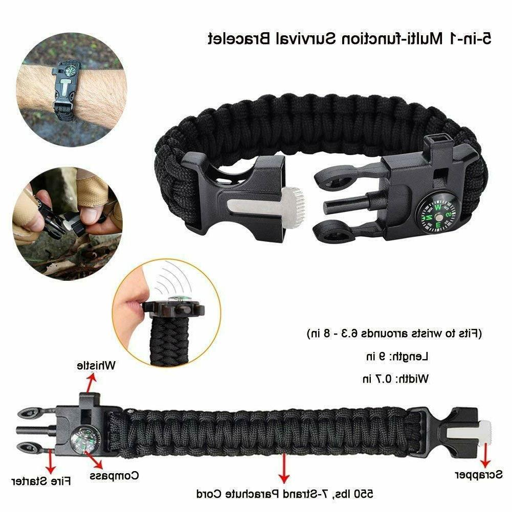 40 Survival Camping Military Gear