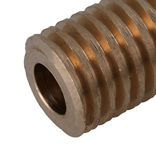 CNBTR Bore Diameter Shaft with 20 Worm Wheel 0.5 Set Drive Box Shaft