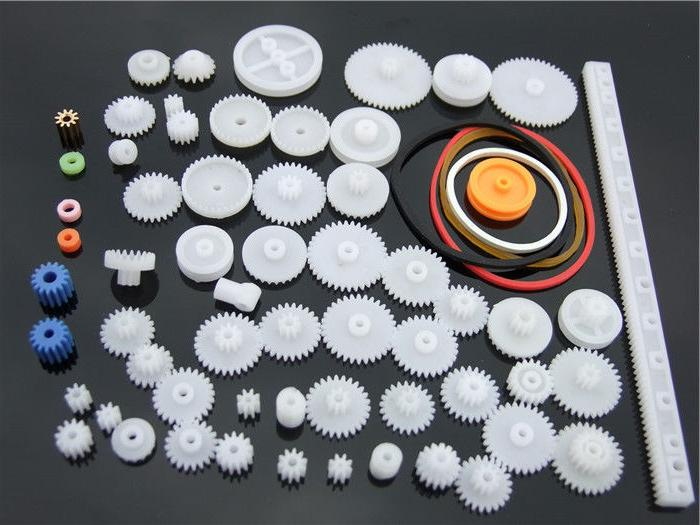 60pcs Plastic Shaft Gears Robot DIY Mechanical Model Kit Sma