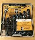 GearWrench 7 pc. Metric Full Polish Ratcheting Flex Head Com