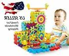 81 GEAR Building TOY SET Interlocking Learning Blocks KRAZY