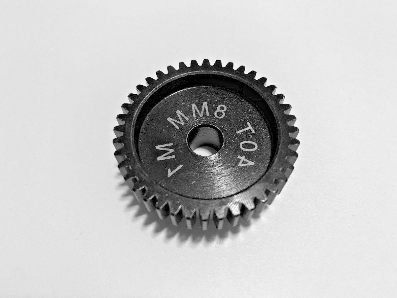 8mm 40t mod 1 pinion gear traxxas