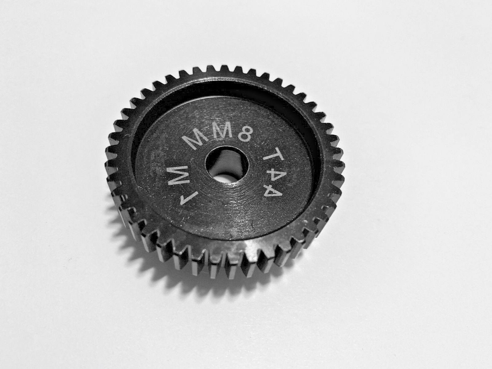 8mm 44t mod 1 pinion gear traxxas