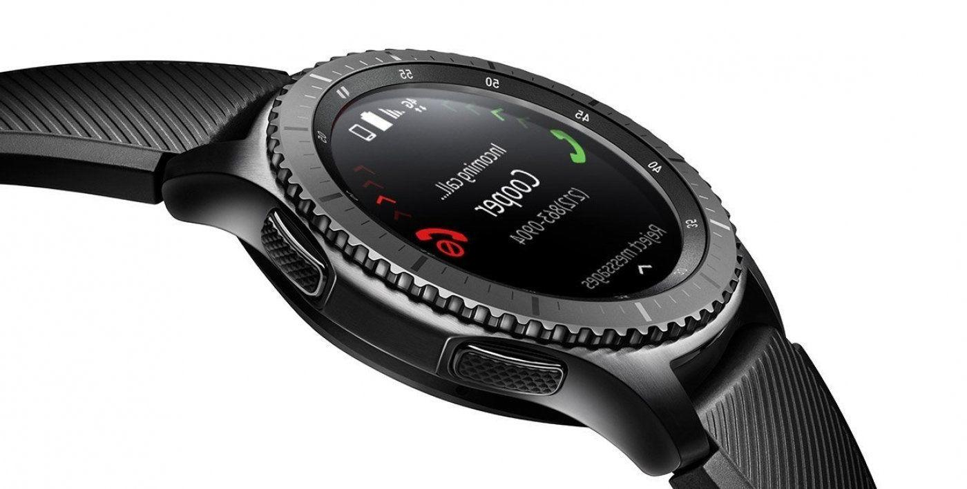 Samsung S3 Frontier Verizon Smart Watch Black