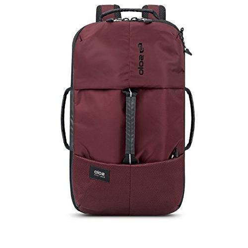 Solo All-Star Hybrid Backpack, Burgundy