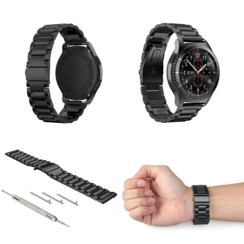 Stainless Steel Bracelet Strap Samsung Gear S3 Frontier / S3