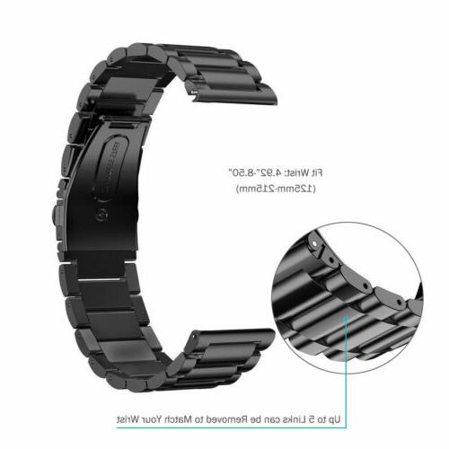 Stainless Steel Metal Strap Watch Band For Samsung Gear S3 R