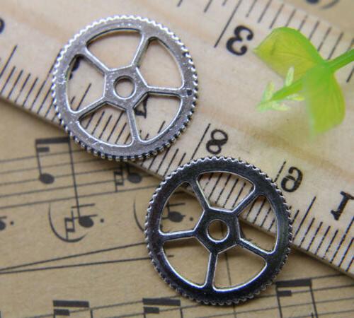 Alloy Jewelry Gear Pendant