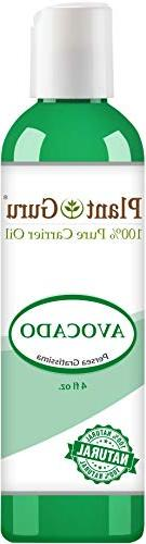 Avocado Oil 4 oz. Cold Pressed 100% Pure Natural Carrier - S