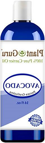 Avocado Oil 16 oz. Cold Pressed 100% Pure Natural Carrier -