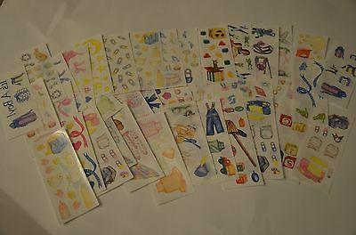 Creative Memories Baby Stickers You Choose Girl Boy Ribbons
