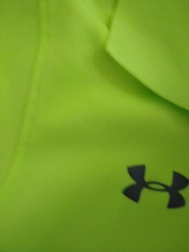 Boys Under Armour Green Polo Golf Size