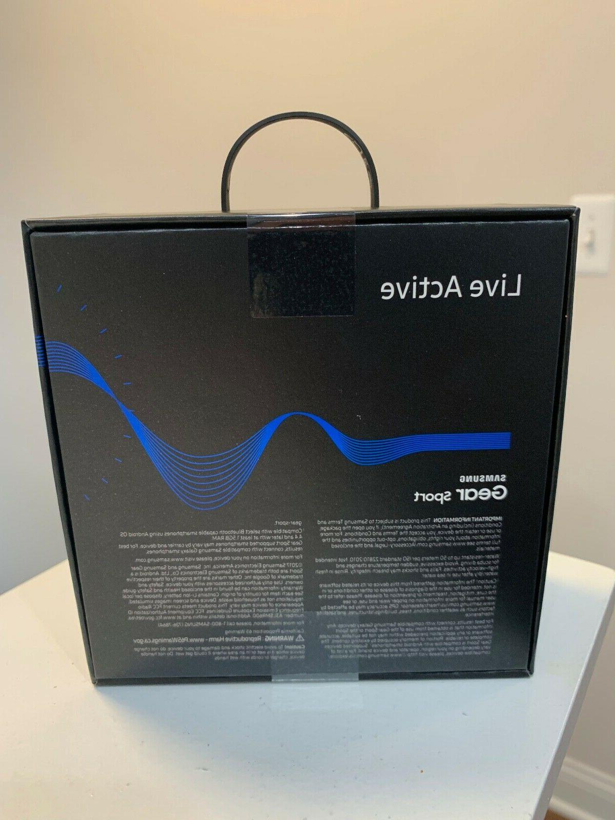 Brand New Samsung Sport Blue Smart SM-R600NZBAXAR