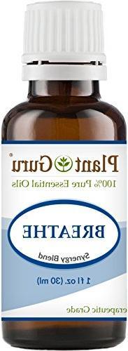 Breathe Respiratory Synergy Blend Essential Oil 1 oz.100% Pu