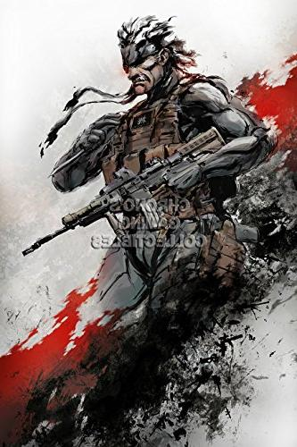 cgc huge poster metal gear solid ps4 mgs502