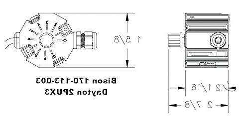 Bison Motor Controller 1/35-1/6HP, 90VDC