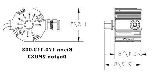 Bison Direct Mount Motor