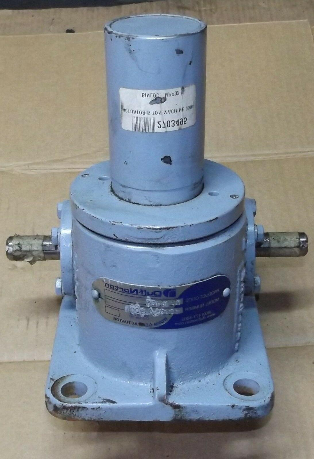 duff norton mechanical worm gear screw actuator