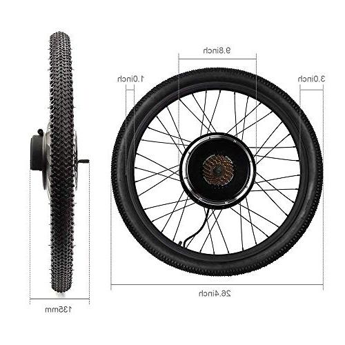 Uttiny Electric Kit 5 26 48v 1500w Ebike Wheel With Motor And Screen