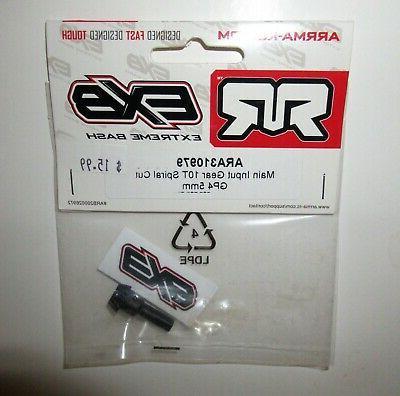 exb main input gear 10t spiral cut