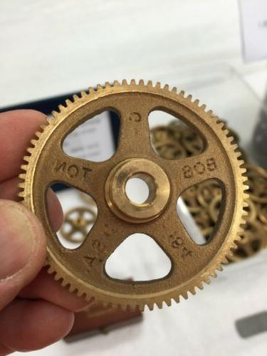 g 184 bronze spur gear for clocks