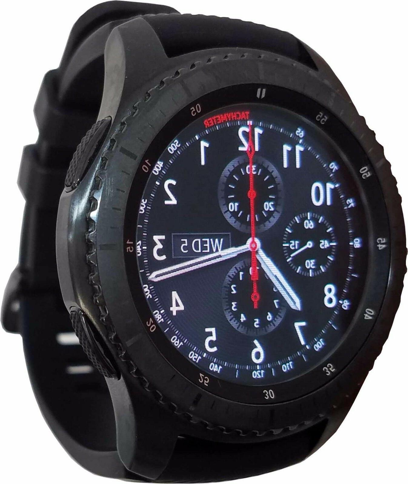 Samsung Galaxy Gear S3 Frontier 46mm Watch Stainless Steel C