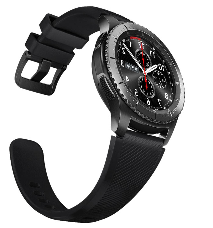 Samsung Smart Stainless Case Black Sm-R760NDAAXAR
