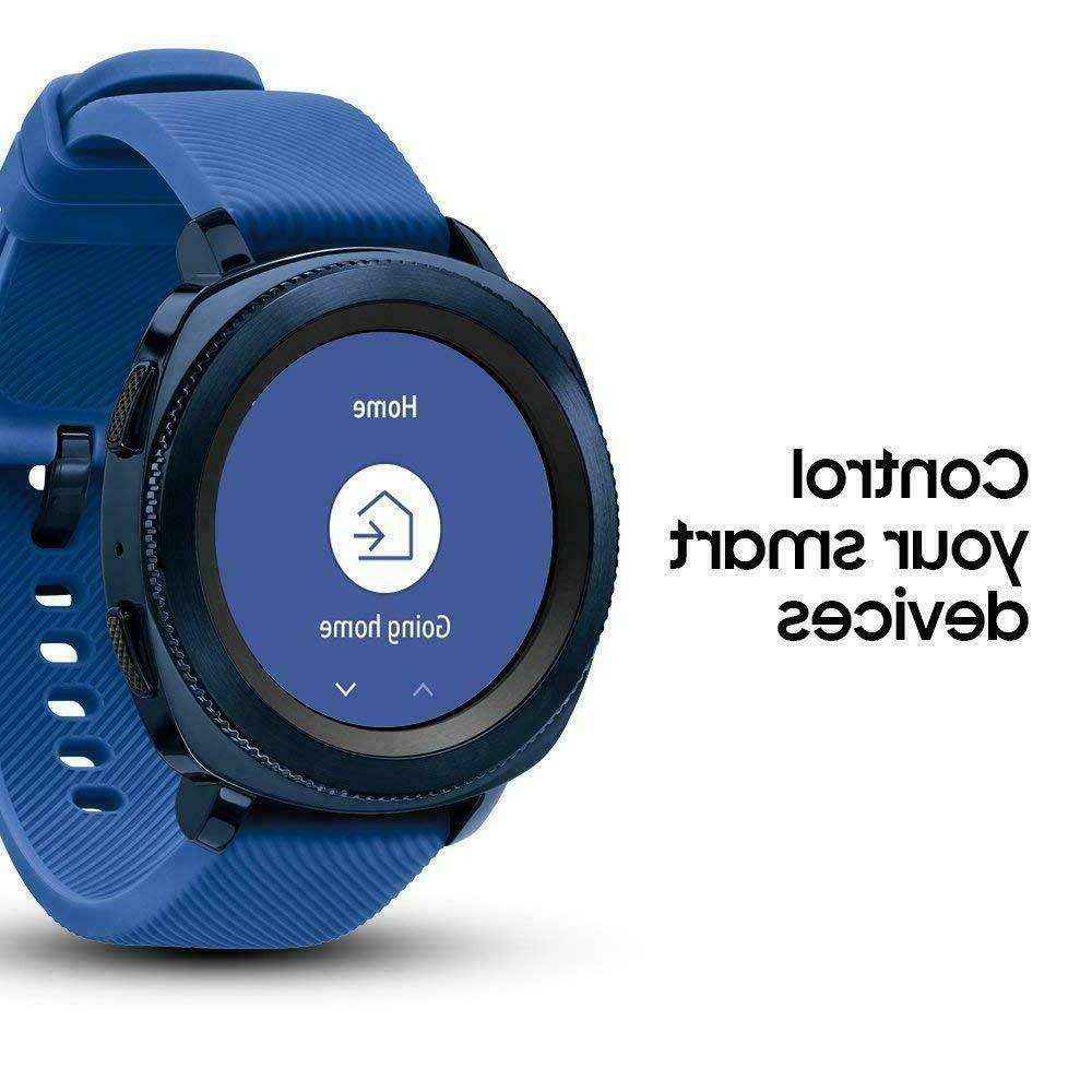 Samsung Sport Blue Smart Bluetooth
