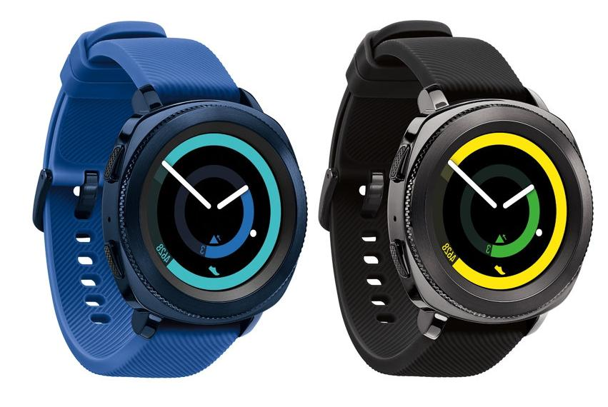 Samsung Gear Sport Smartwatch - Black / Blue / Large / Small