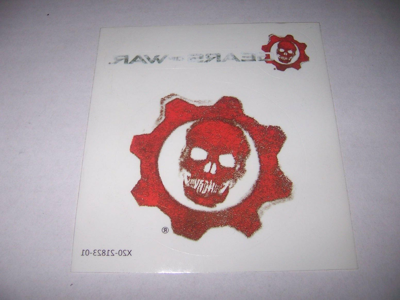 Gears of War - Stickers / Decals Gears Omen Logo