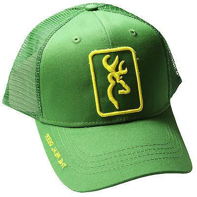 Browning Head Gear The Real Deer Green Hat Cap John 30864064