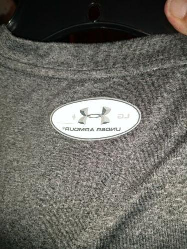 Under Armour Heat Mens Fitted Polyester Grey