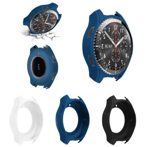 Slim Smart Watch Case Cover For Samsung Galaxy Gear S3 Front