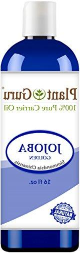 Jojoba Oil 16 oz. Cold Pressed 100% Pure Natural Carrier - S
