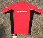 Kids Youth Sea Doo 50+ SPF ProTec Fabric Red & Black Short S