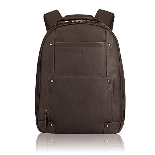 leather vintage backpack
