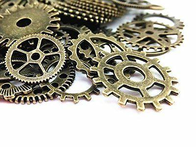 Lot 100g Steampunk Gears Watch Gear DIY Craft