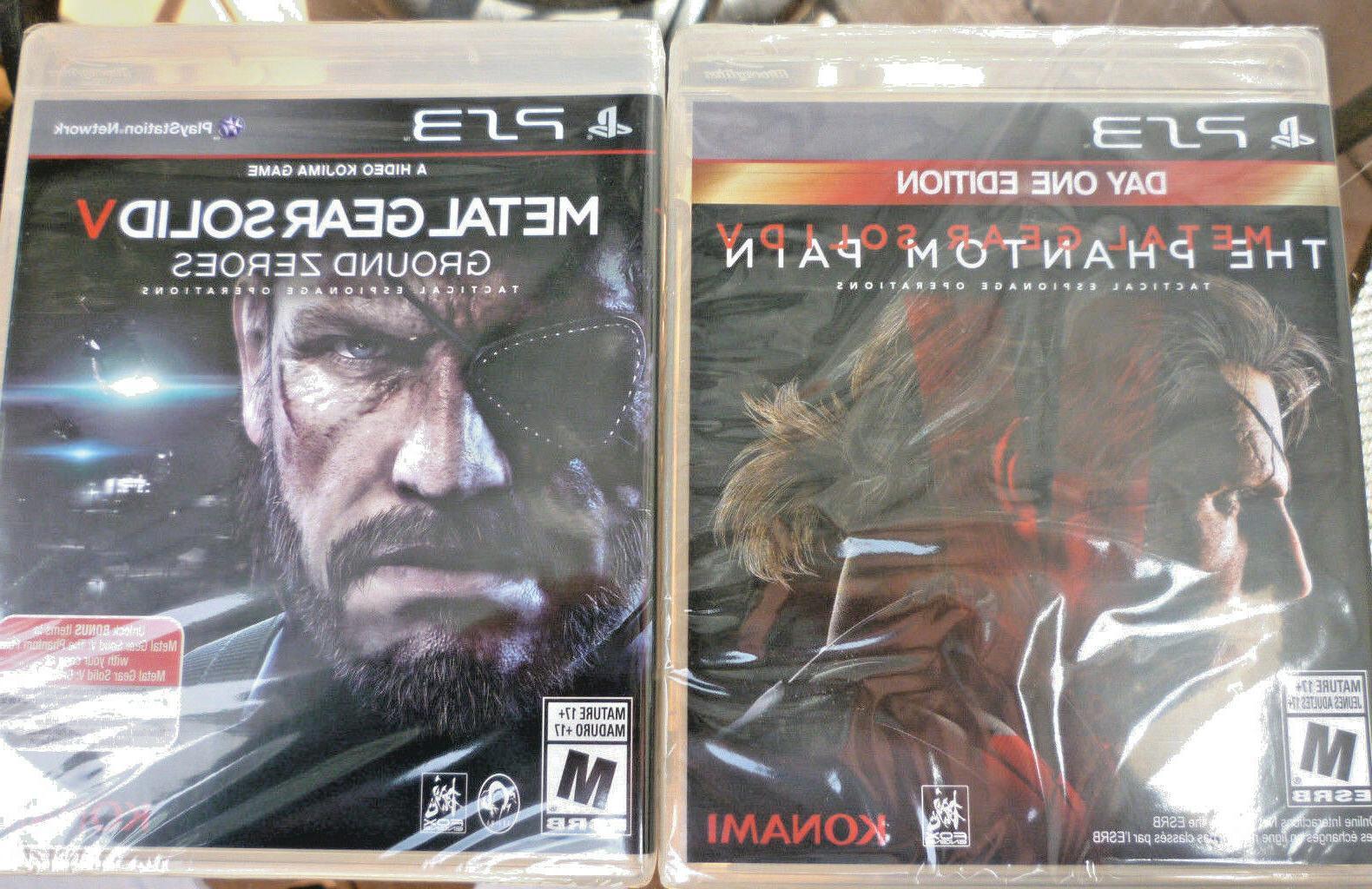 Metal Gear Solid V Phantom Pain Day One ED & Ground Zero -2