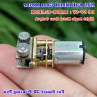 N20 Mini Precision Metal Gearbox Gear Motor DC5V 11RPM For S