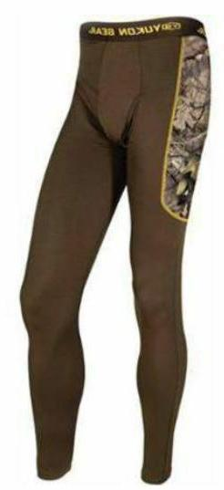 New 3XL Yukon Gear Scent Control BaseLayer Pants Mossy Oak B