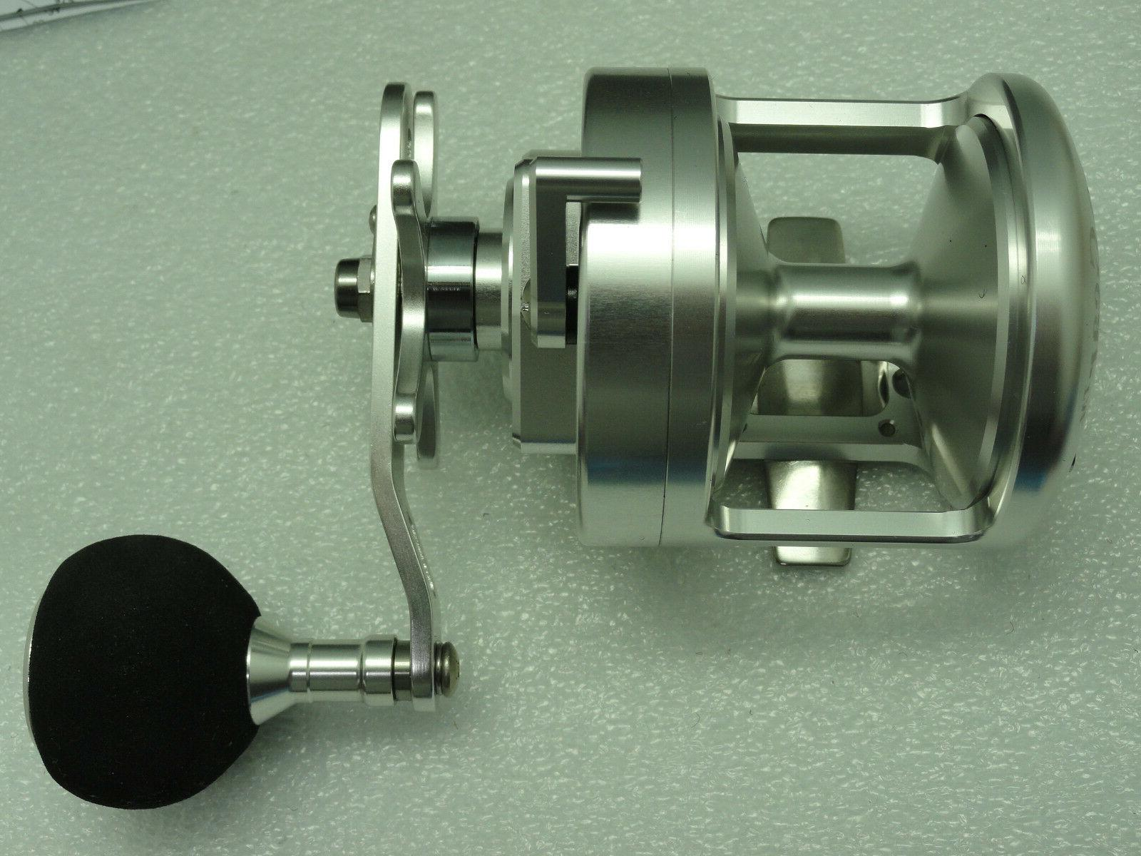 NEW Gear V50 Star Drag reel Silver FREE SHIPPING cover