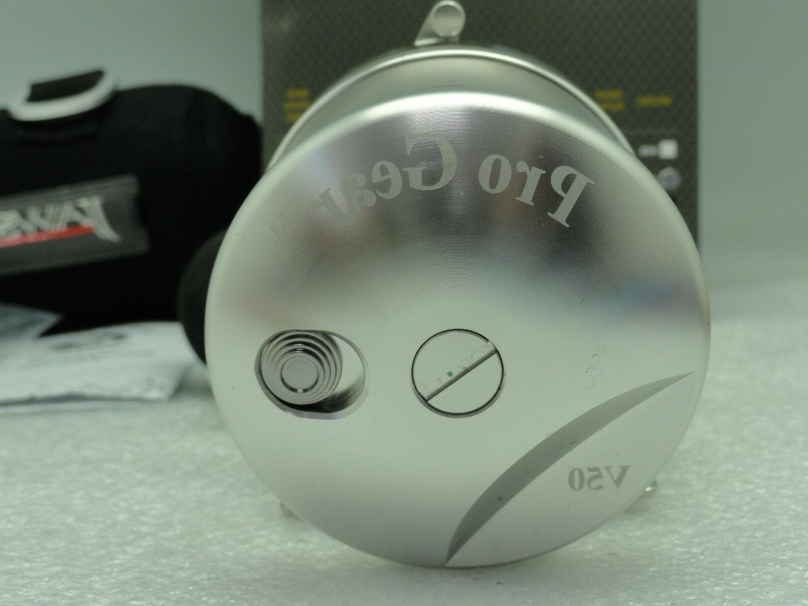 NEW PROGEAR Pro Gear V50 Drag Silver FREE SHIPPING cover Right