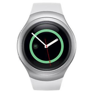 New White Samsung Galaxy Gear S2 R730a Stainless Steel. GSM