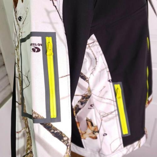 New Yukon Gear Large Mossy Oak Winter Camo Scent Jacket