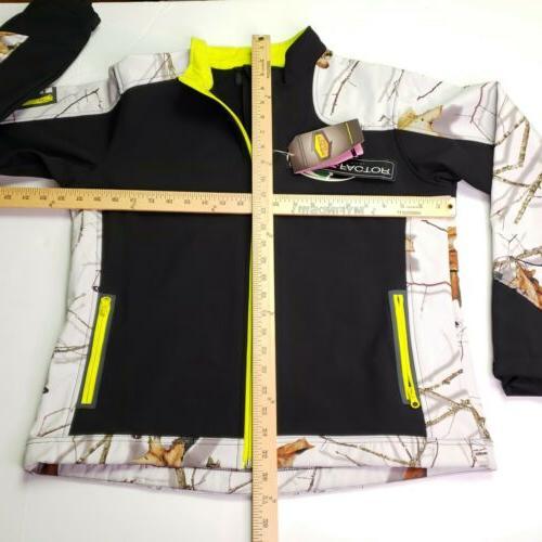 New Yukon Gear Womens Large Mossy Winter Camo Factor Windproof Jacket